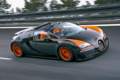 Weltrekord Fr Bugatti Veyron Roadster Shanghai Auto Show