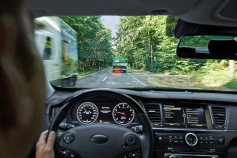 Head Up Display Mit Augmented Reality Autobildde