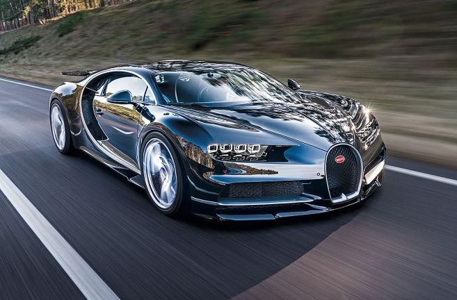 Video Bugatti Chiron 2016 Autobildde