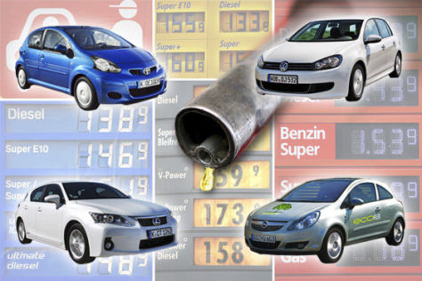Verbrauch Die Sparsamsten Diesel Und Benziner Bis 30000