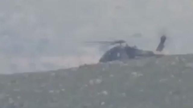 Düşen helikopter hakkında TSK'dan açıklama: Atak helikopteri kırıma uğradı