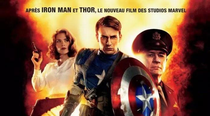 Poster phim Captain America 2011 (Nguồn: internet)
