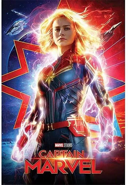 Poster Phim Đại Úy Marvel (nguồn: internet)