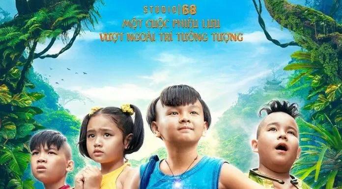 """Poster phim """"Trạng Tí Phiêu Lưu Lý"""""""