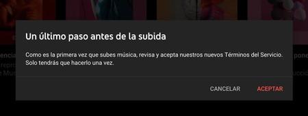 Subir Música Youtube Music