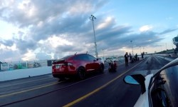 Así es como un Tesla Model X supera a un Lamborghini Aventador y de paso estable un nuevo récord