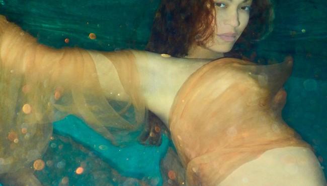 Beyoncé bajo el agua
