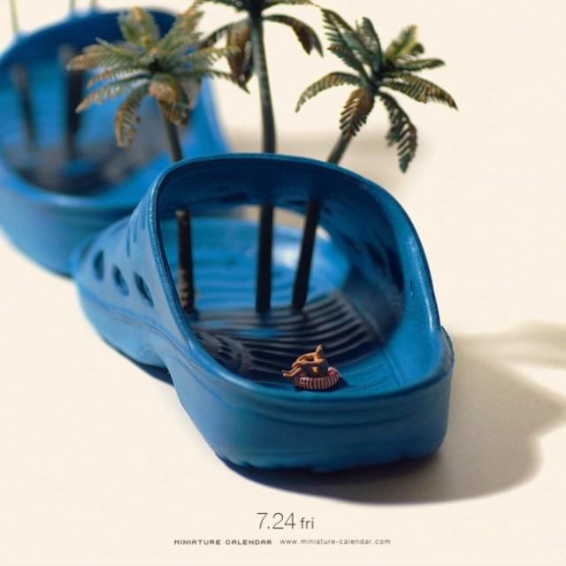 Miniature Calendar Tatsuya Tanaka 18