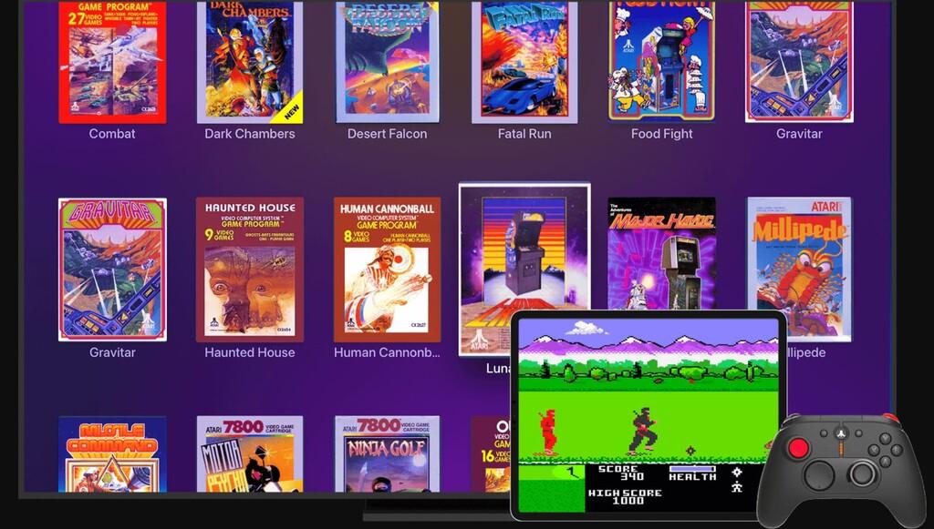 Plex Arcade: 27 juegos retro de Atari por streaming y la posibilidad de subir nuestras ROMs por 2.99 dólares al mes