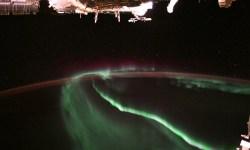 Un astronauta nos ha mostrado una aurora vista desde el espacio y ¡guau!