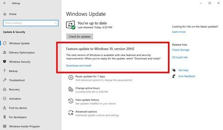 Das Windows-Update vom 10. Oktober 2020 ist so klein, dass Sie nicht einmal feststellen, dass Sie es installiert haben, wenn Sie nicht darauf achten