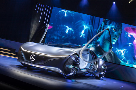 Mercedes Benz Vision Avtr 2