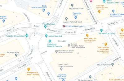 Google Maps ya muestra detalles a nivel de calle en estas cuatro ciudades