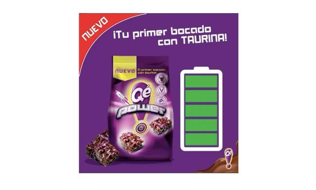 Qè! Power: el primer snack con taurina