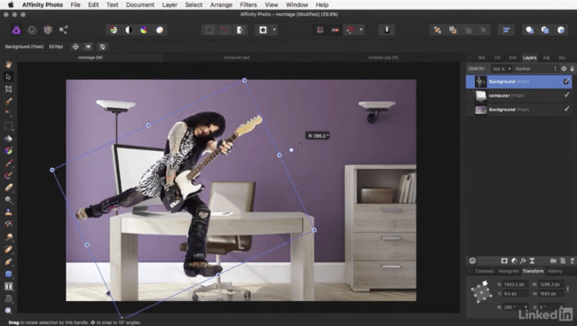 Welcome Affinity Photo Essential Training 2018 01 18 17 33 28