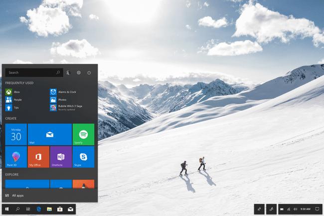 Windows 10 Fluid Desktop