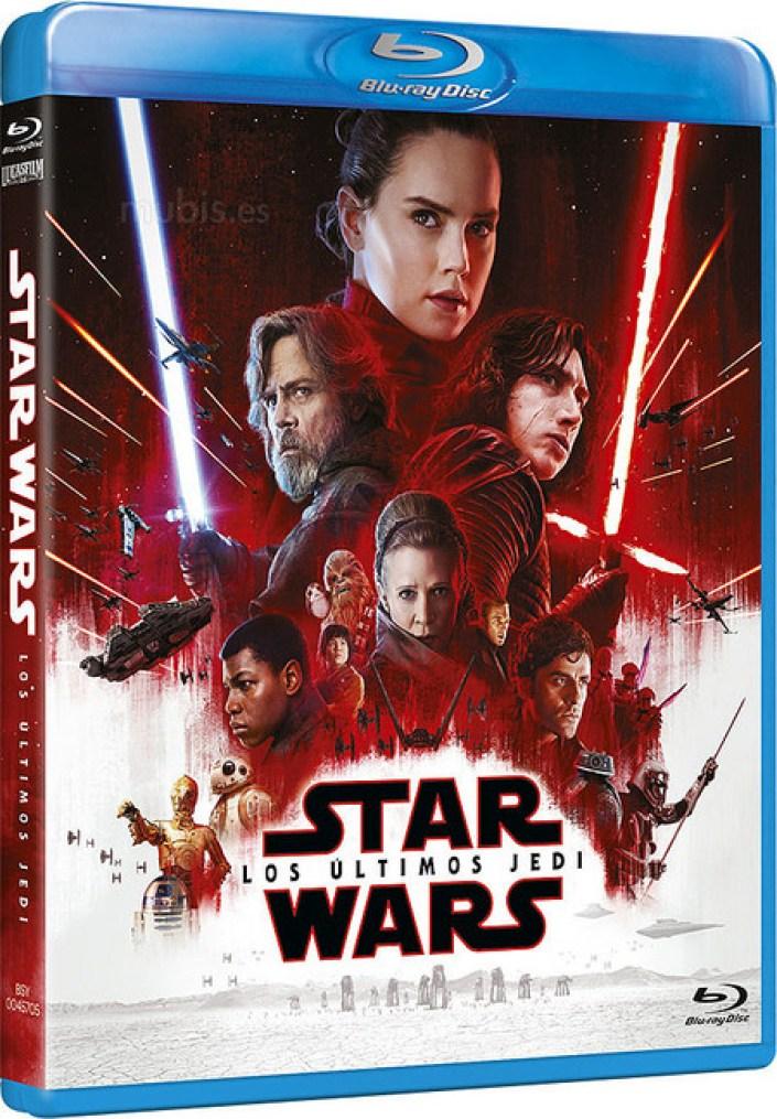 Star Wars VIII en Blu-ray