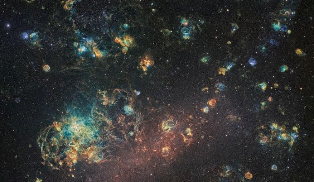 1060 horas mirando la Gran Nube de Magallanes: un hermosísimo récord de la astrofotografía amateur