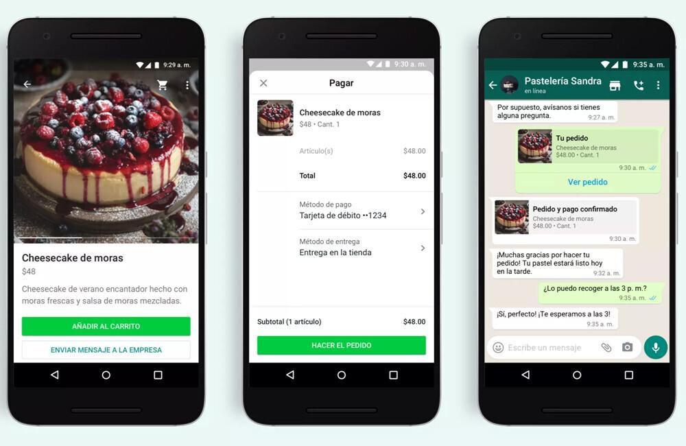 WhatsApp estrena botón de compras con catálogo de productos y pagos desde la propia aplicación
