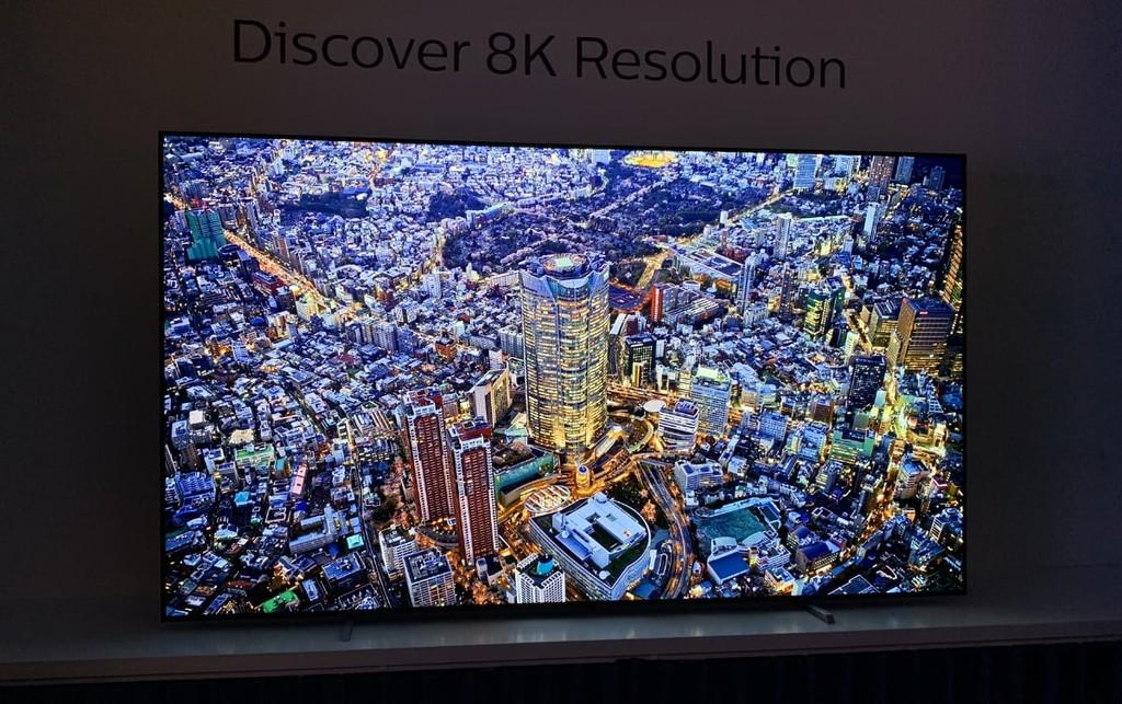 Philips ya prepara el salto a las teles 8K, pero esperará a que el mercado esté más maduro para comenzar a venderlas