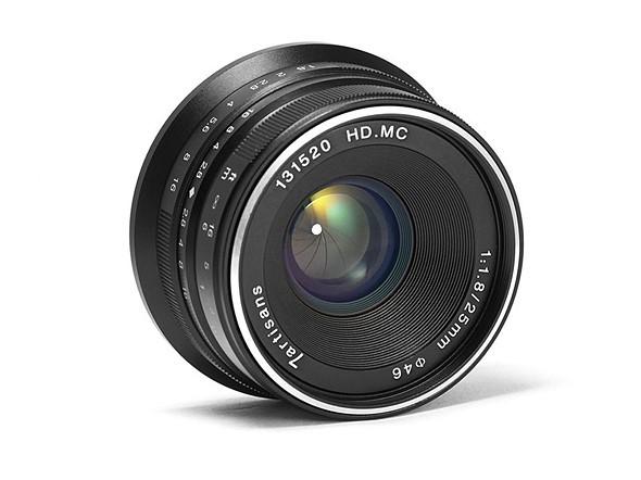 7Artisans veinticinco mm. f/1,8 para Sony, Fujifilm X y Micro Cuatro Tercios