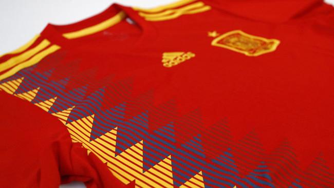 Seleccion Espanola Camiseta Mundial Rusia 2018