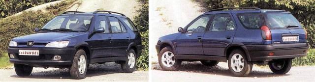 Peugeot 306 break 4x4 Dangel