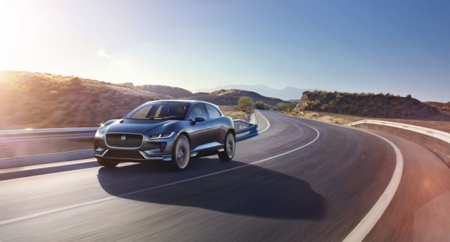 Jaguar I Pace Concept Location 15sm 0
