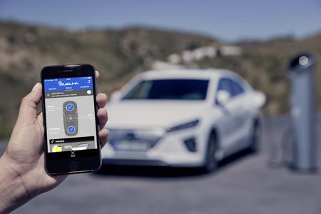 New Hyundai Ioniq Electric Blue Link 2