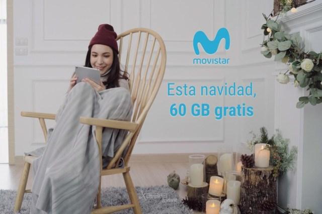 Movistar regala 60 GB a los clientes de contrato por navidad y estrena bonos WiFi para el coche