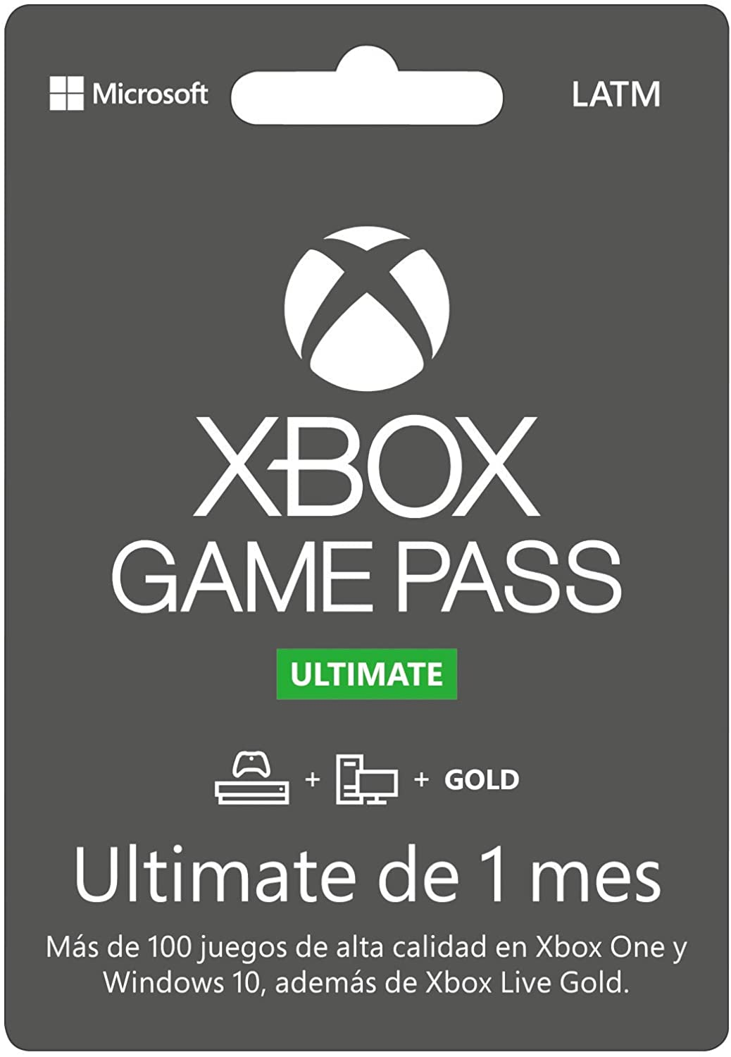 Xbox Game Pass Ultimate - 1 Mes