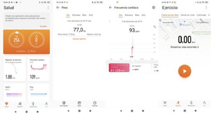 App Salud Huawei