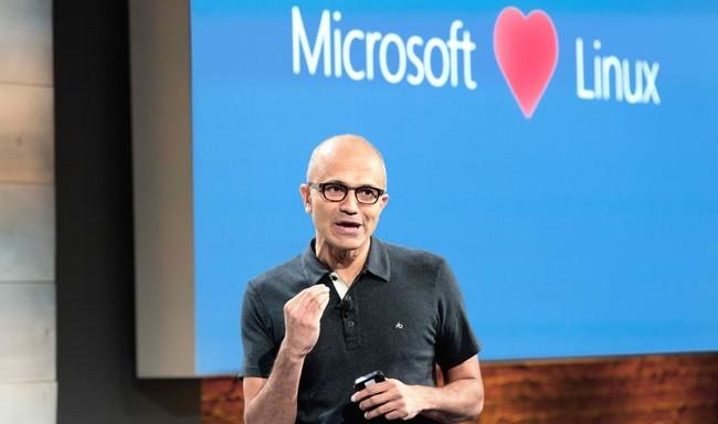 Microsoft ama a Linux