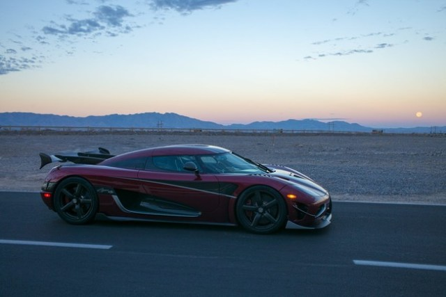 Koenigsegg Agera RS récord rapidez 447 km/h