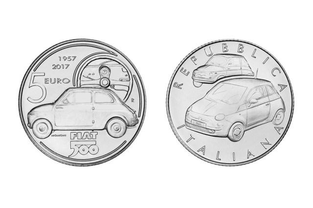 Fiat quinientos moneda