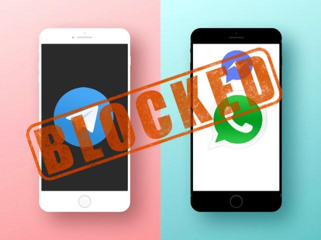 Whats Telegram℗ Blocked