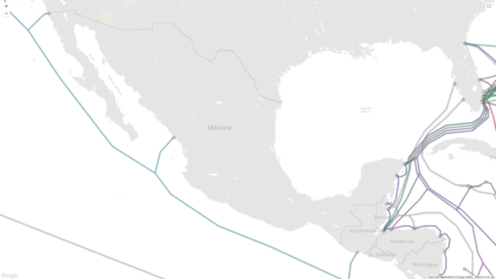 Cables Submarinos Mexico