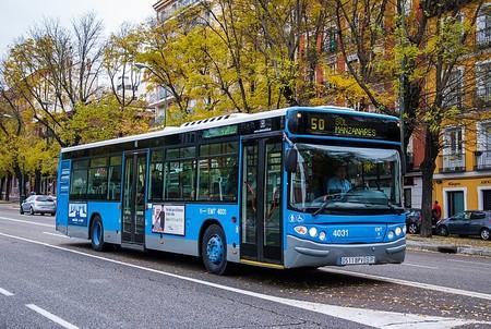 Autobus Urbano En Madrid Diario De Madrid
