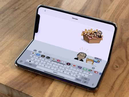 Concept Iphone Xs pliable