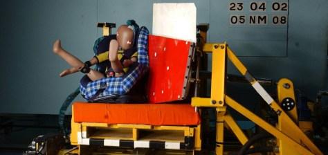 Sillitas i-Size crash test