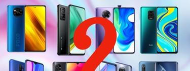 Entendiendo el lío de móviles Xiaomi: un poco de orden en el extenso (y caótico) inventario de Xiaomi℗ en España