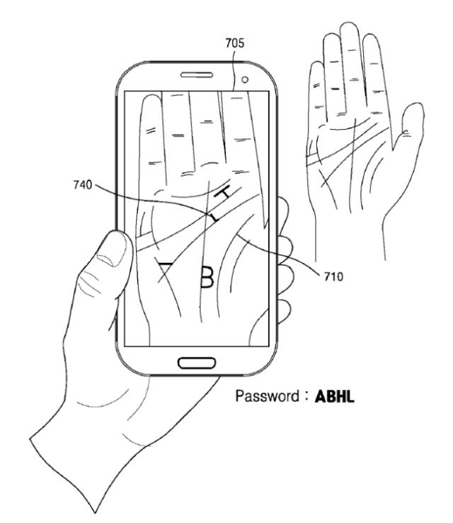 Samsung Patent Palm℗ 2