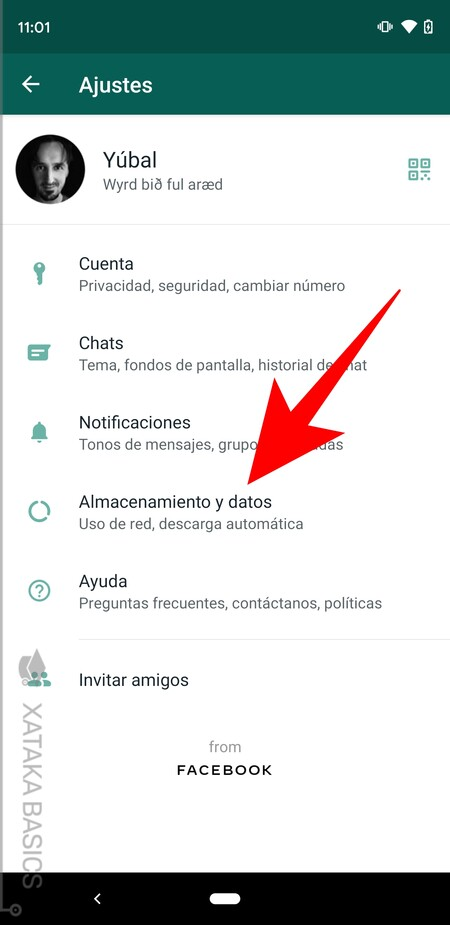 How to free up space on WhatsApp quickly with your storage manager