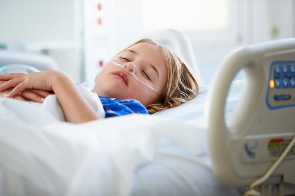 Niños y ambulancia