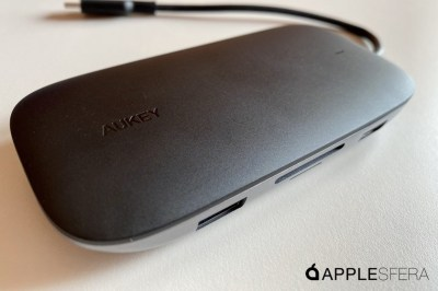 The AUKEY CB-C71 is an eight-screen unit suitable for our Mac or iPad Pro