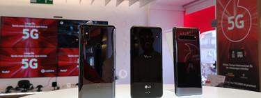 Ponemos a prueba la velocidad de la red 5G de Vodafone: así es navegar desde el móvil a 800 Mbps