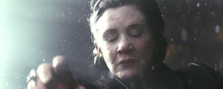 Leia In The Vacuum Of Space In The Last Jedi