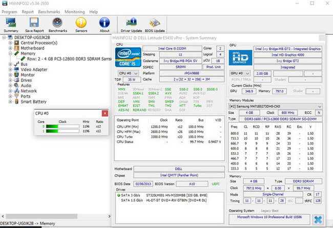 Hwinfo 32 Bit Hwinfo 64bit Interface Cover Photo
