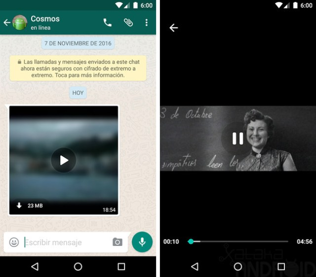 Whatsapp Streaming