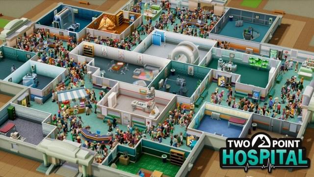 Two Point Hospital recibirá el nuevo modo Sandbox: Juego Libre con una  actualización